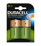 Paquet de 2 piles rechargeables DURACELL - HR20 - 1,5 volts