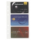 Recharges non millésimées EXACOMPTA - 5 pochettes de cartes de visite - Exatime 17