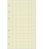 Recharges non millésimées EXACOMPTA - bloc quadrillé 5 x 5 - Exatime 21