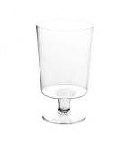 Sachet de 12 verres à pied cristal rigide - 16 cl