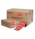 """Paquet de 2x500 étiquettes """"fragile"""" adhésives APLI 102127 - 100 x 50 mm"""