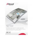 Pochette autocollante REXEL Sign Maker - pour affiche A4