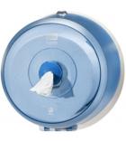 Mini distributeur de papier hygiènique TORK Smartone - feuille à feuille - bleu