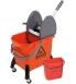 Chariot de lavage + presse + seau de 9 litres