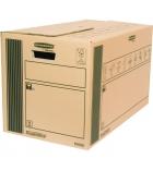 Lot de 10 cartons déménagement FELLOWES Cargo Box - standard 35 x 37 x 66 cm