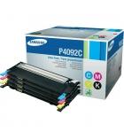 Pack 4 cartouches d'impression laser 1 noire 3 couleurs SAMSUNG 1500 + 3x1000 pages - CLT-4092C