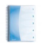 Protège-documents polypro ELBA Flexam avec intercalaires - 30 pochettes/60 vues