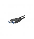 Cordon USB 3.0 AB M/M 1,8 mètre