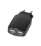 Chargeur secteur USB 2 ports