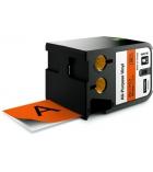 Ruban DYMO XTL - 54 mm x 7 m - noir/orange
