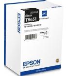 Cartouche d'impression jet d'encre noire EPSON 10000 pages - C13T865140 - T8651