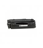 Cartouche laser noire compatible pour HP 7000 pages - QI-53X - Q7553X