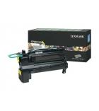 Cartouche laser jaune LEXMARK 20000 pages - X792X1YG