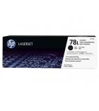 Cartouche d'impression laser noire HP 1000 pages - CE278L - 78L