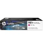 Cartouche jet d'encre magenta HP 16000 pages - L0R14A - 981Y