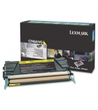 Cartouche d'impression laser jaune LEXMARK 7000 pages - C746A1YG