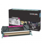 Cartouche d'impression laser magenta LEXMARK 7000 pages - C746A1MG