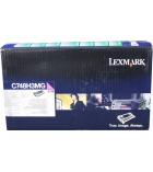 Cartouche d'impression laser magenta LEXMARK 10000 pages - C748H3MG