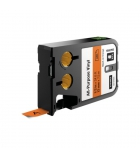Ruban DYMO XTL - 12 mm x 7 m - noir/orange