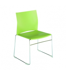 Chaise polypro multi-usages - vert clair