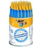 Pot de 36 stylos d'apprentissage BIC KIDS Twist Premium - bleu