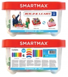 Boîte de 100 pièces jeu de construction Smartmax 100 dès 1 an