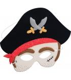 "Kit pâte à modeler pour 4 masques ""pirate"""