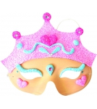 "Kit pâte à modeler pour 4 masques ""princesses"