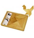 Jeu d'encastrement en bois Grand tangram dès 7 ans