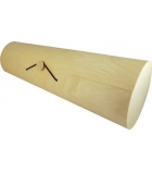 Euit cylindrique en bois à décorer 8 x 3 x 6 cm