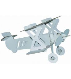Avion biplan en carton 46 x 44 x 24 cm