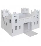 """Structure en carton à monter """"le Château-fort"""" 51 x 38 x 30 cm"""