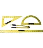 Set de traçage magnétique 4 instruments pour tableaux