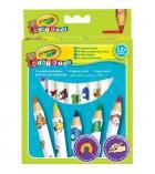 Etui de 8 crayons de couleur CRAYOLA Mini Kids gros diamètre - assortiment