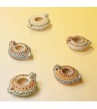 Kit  atelier mosaïque 12 lampes d'Aladin à décorer