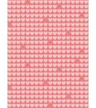 Paquet de 10 feuilles gluepatch 30 x 40 cm - cœurs roses