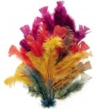 Sachet de 25g de plumes de dinde couleur automne - assortiment