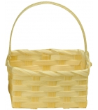 Panier en bambou rectangle 9 x 5 x 13 cm
