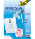 Pochette de 10 feuilles de film transparent A4 - 115g pour vitrail - incolore