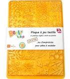Plaque à texturer pour pâte à modeler dès 2 ans