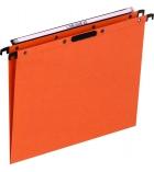 Paquet de 25 dossiers suspendus pour tiroir L'OBLIQUE Kraft - Velcro - plié en V