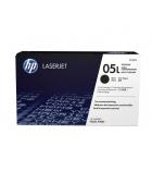 Cartouche laser noire HP 1000 pages - CE505L - 05L