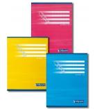 Cahier piqûre - CALLIGRAPHE - 32 pages - 17 x 22 cm - double ligné 2 mm