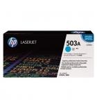 Cartouche d'impression laser couleur cyan HP 6000 pages - Q7581A - 503A