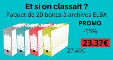 promo boites à archives elba
