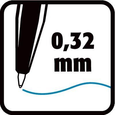 0,32 mm