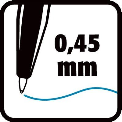 0,45 mm