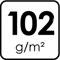 102 g