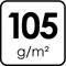 105 g