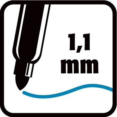 1,1 mm